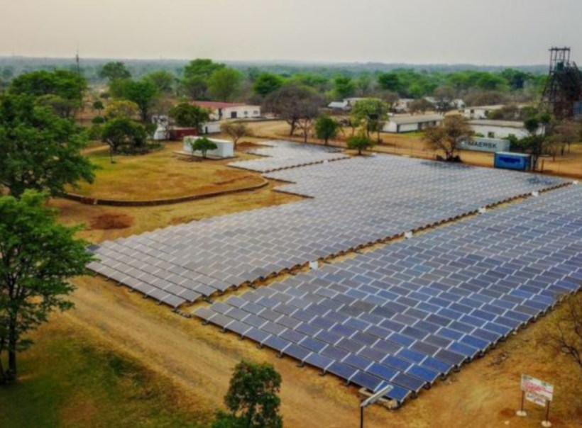 Mini grid solar