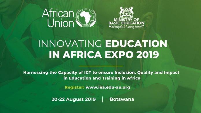 Innovating Education Africa 2019 flyer