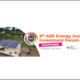 ARE 6th Investment Forum Energy Access