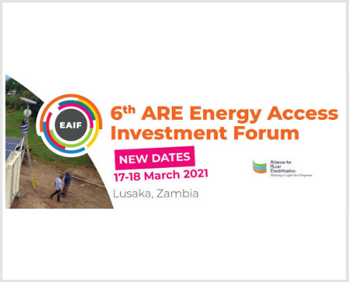 6th ARE Energy Access Investment Forum