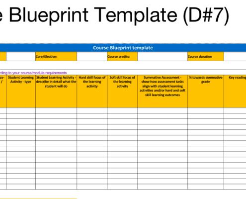 TEA-LP curriculum template