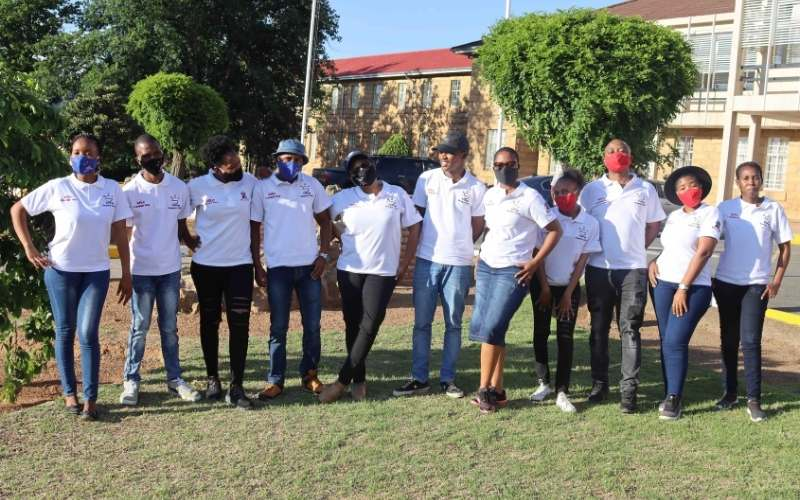 National University of Lesotho students
