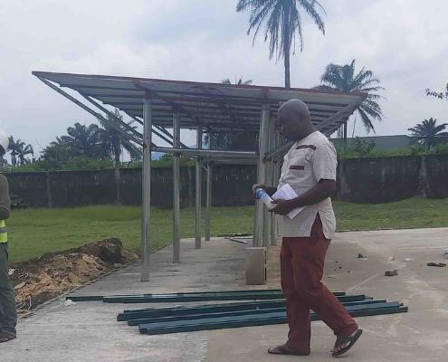 University of Port Harcourt green energy garden